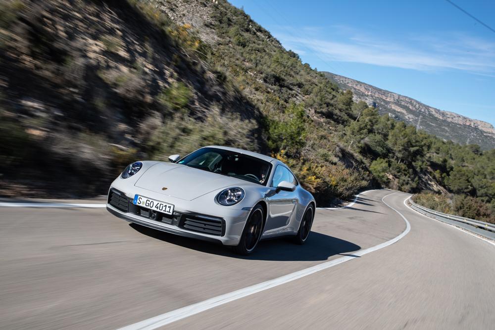 Getest: Porsche 911 Carrera S (992), evolutie-praktijk