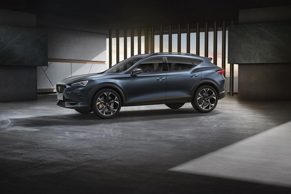 Officiel : Cupra Formentor, un SUV coupé sportif… et hybride !