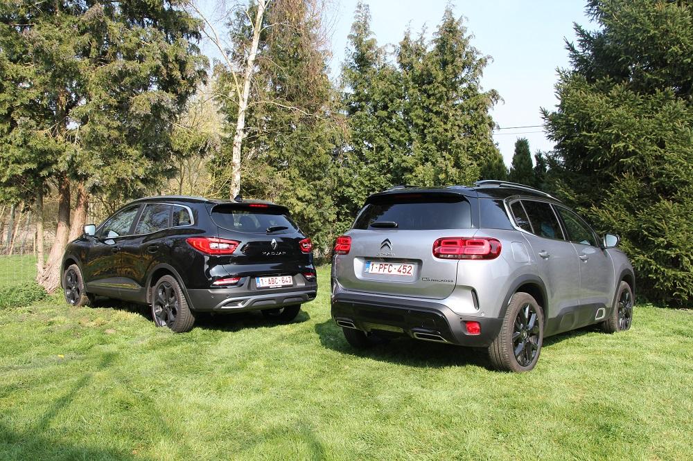 Citroën C5 Aircross vs Renault Kadjar: duel tussen gezins-SUV's