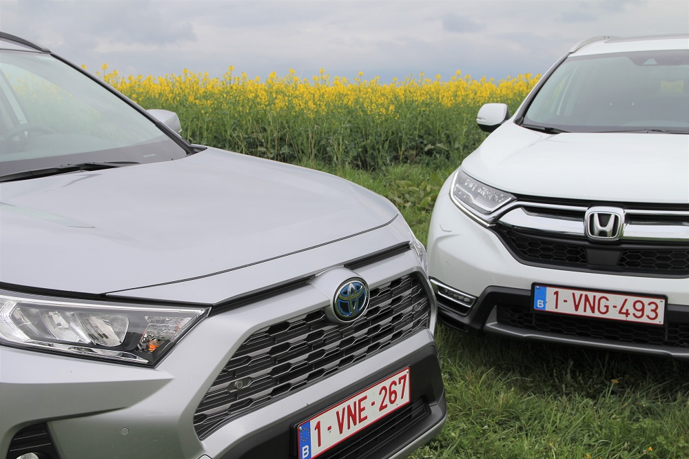 Honda CR-V vs Toyota RAV4: je wil een hybride SUV, maar dewelke?