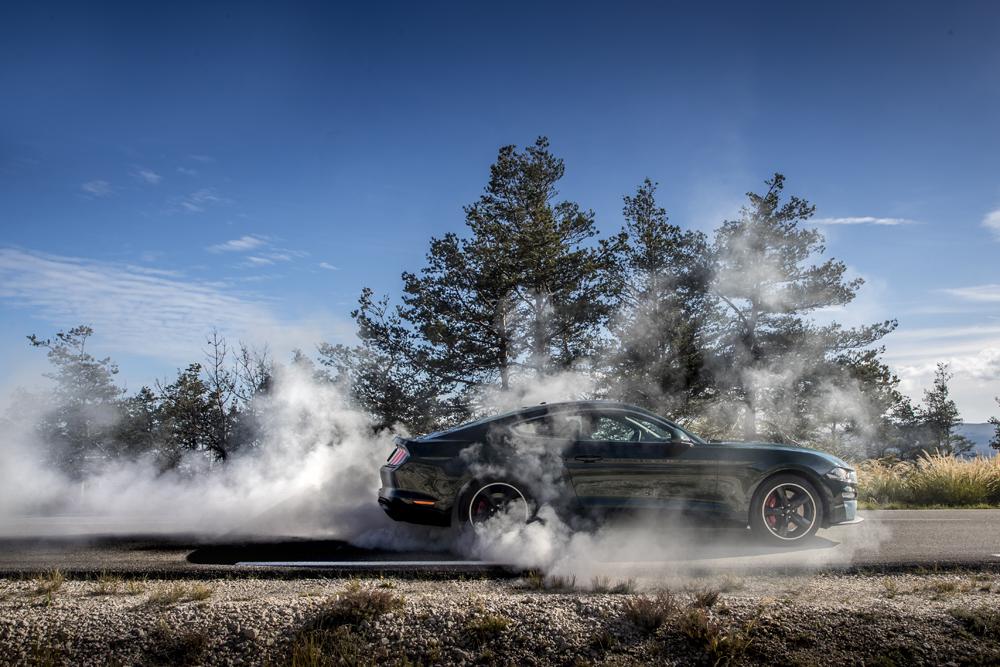 Rijtest: Ford Mustang Bullitt, filmisch eerbetoon