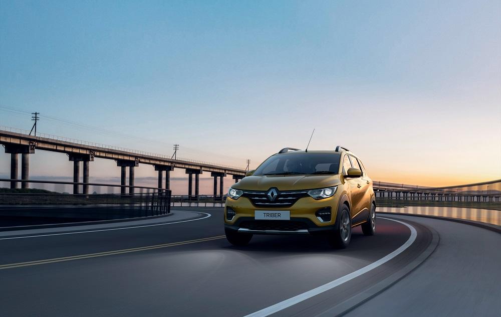 Renault Triber : 7 places dans moins… de 4 mètres !
