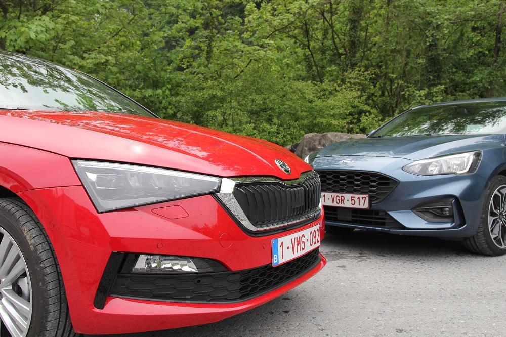 Ford Focus vs Skoda Scala: klaar voor het front?