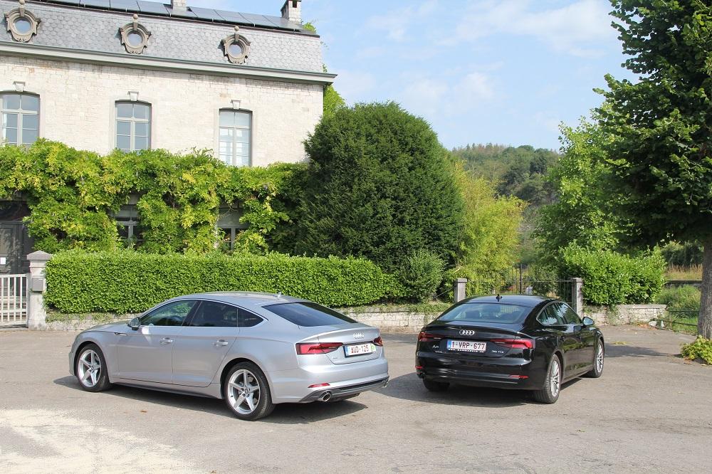 Audi A5 Sportback 40 g-tron vs 35 TDI: aardgas of diesel?