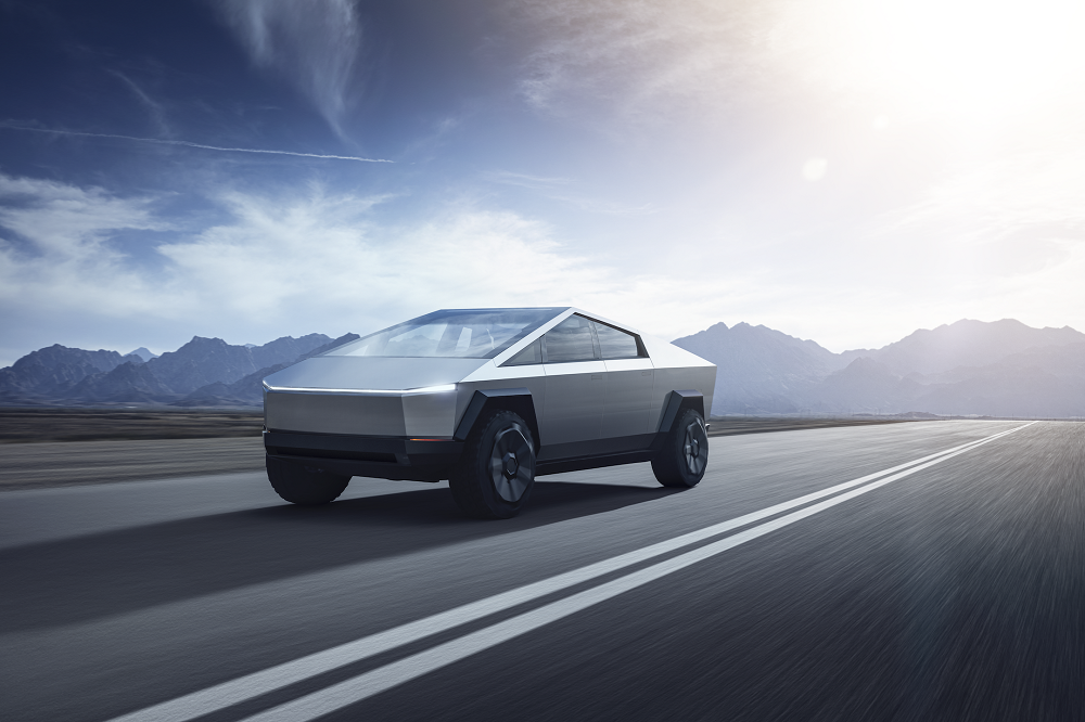 Tesla Cybertruck: 'speciaal' uiterlijk, waanzinnige cijfers…