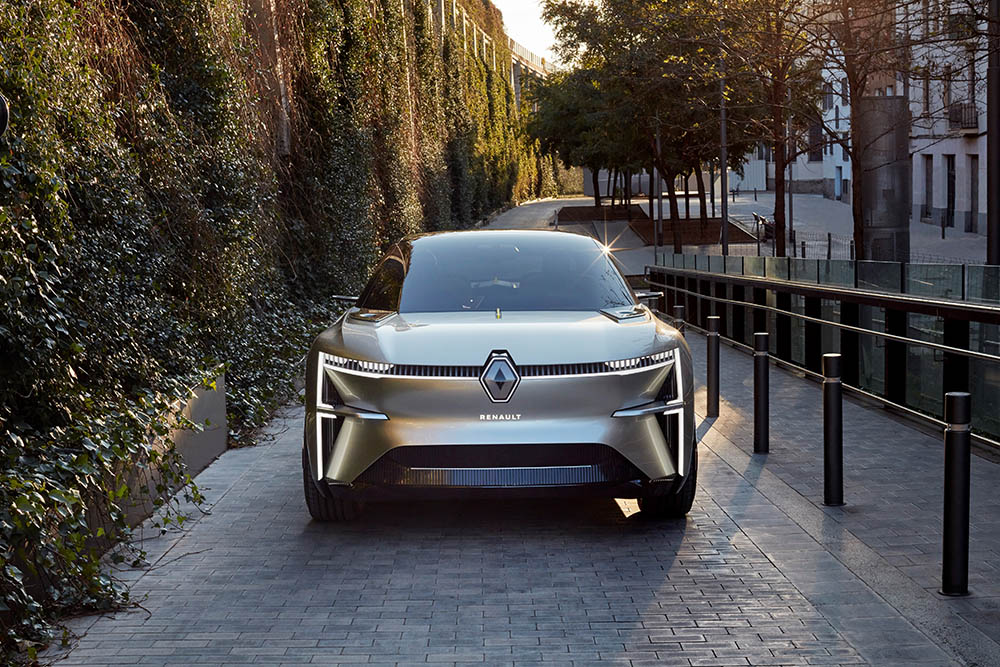 Renault MORPHOZ : le concept qui s'allonge !