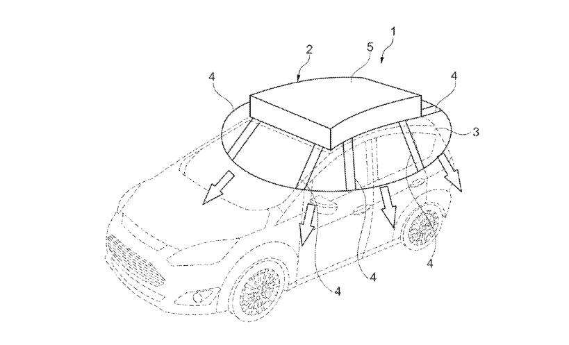 Ford : un brevet pour une housse de voiture.. photovoltaïque !