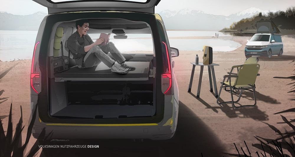 Volkswagen Caddy Beach : le nouveau California miniature