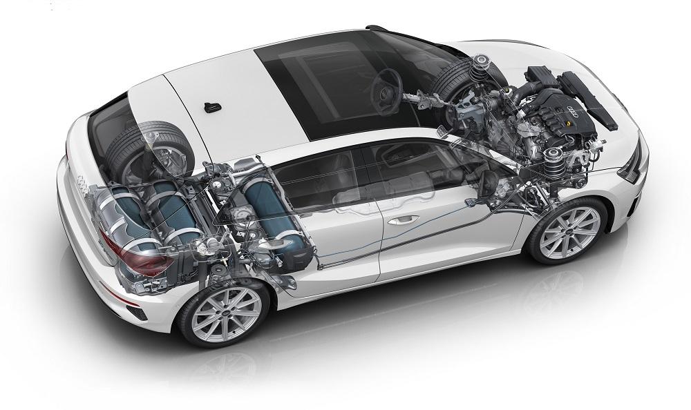Audi A3 Sportback 30 g-tron : le gaz naturel, toujours d'actualité chez Audi