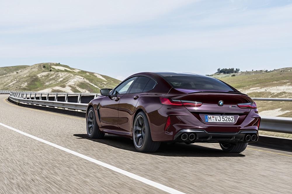 BMW M8 Competition Gran Coupé: GT van extremen