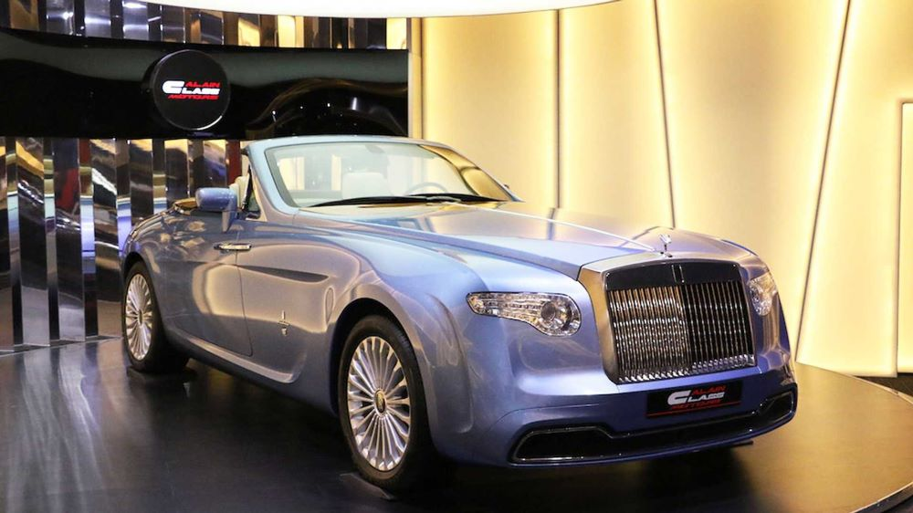 Enig exemplaar van de Rolls-Royce Phantom Hyperion staat te koop