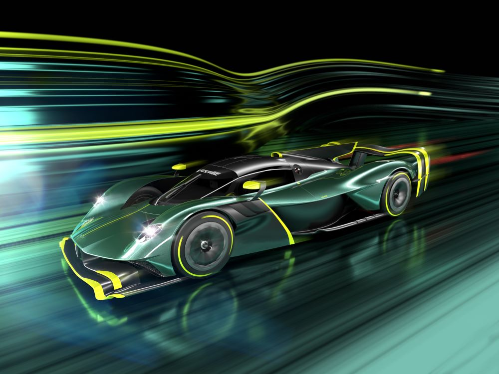 Aston Martin Valkyrie AMR Pro : recyclage de luxe !
