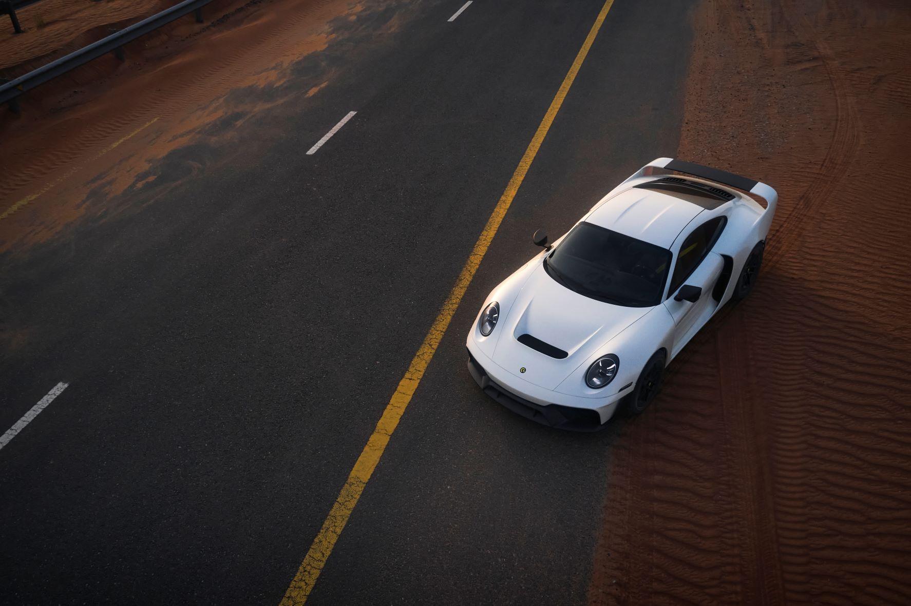 Cette Porsche 911 tout-terrain de plus de 800 ch promet des ruades dans le sable !