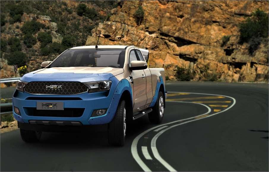 H2X Warrego: Australische Ford Ranger op waterstof