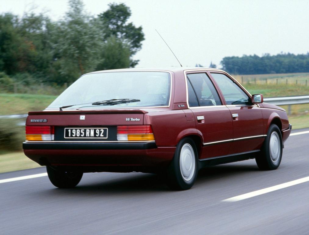 Wolf in schaapsvacht: Renault 25 V6 Turbo, de BMW-killer