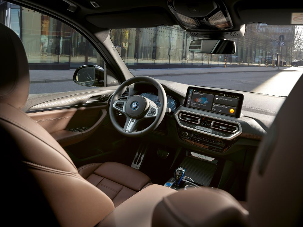 BMW iX3: vroege facelift