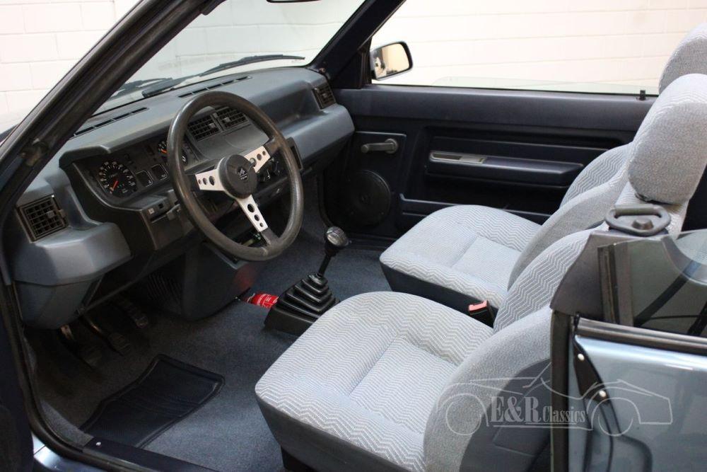 Te koop: een zeer zeldzame Renault Super 5 GTS cabriolet!