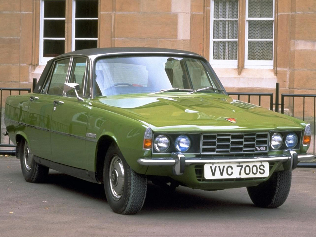 Koopje van het moment: Rover P6, een V8 in de solden
