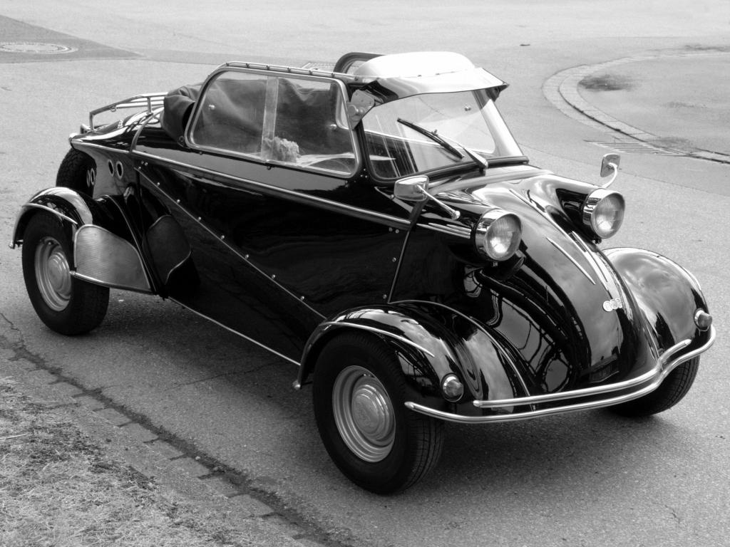 Vergeten model: Messerschmitt Kabinenroller, verzamelaars knokken ervoor