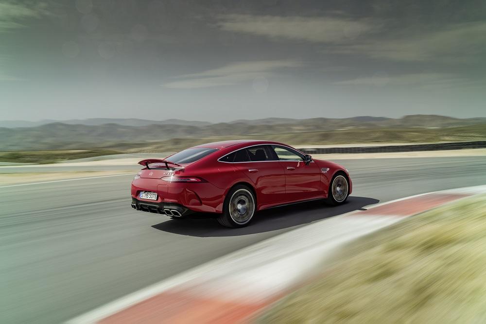 Mercedes-AMG GT 63 S E Performance: bliksemstart