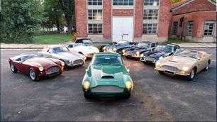 A vendre : une formidable collection privée de voitures anglaises !