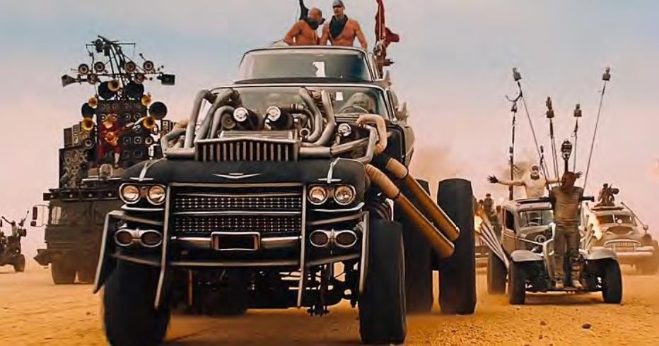 Les voitures de Mad Max : Fury Road sont à vendre !