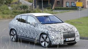 Scoop : Mercedes EQE SUV, silhouette opportuniste