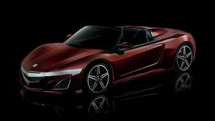 Acura NSX Spider: mysterieuze filmster