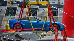 Zinkgat Corvette-museum gaat dicht