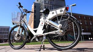 De waterstof aangedreven fiets is hier! (video)