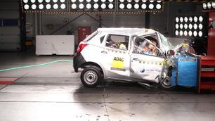 Video: crashtest Datsun Go pijnlijk slecht