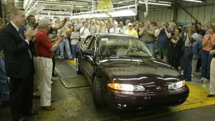 Oldsmobile a fabriqué sa dernière voiture