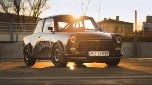 Deze Trabant gaat van 0 naar 100 km/u in 4,5 seconden