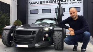 Tom Boonen wordt Donkervoort-ambassadeur