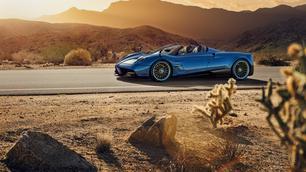 De waanzinnige Pagani Huayra Roadster