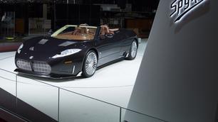 Spyker: een nieuwe auto met een verrassende motor!