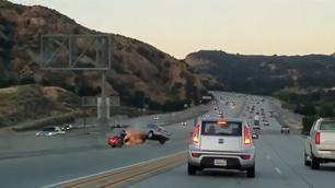 Vidéo - Une altercation sur autoroute qui tourne mal, très mal