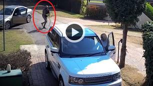 Video: koppel ontsnapt nipt aan gewelddadige carjacking!