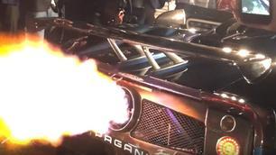 Video: deze Pagani Zonda spuwt vuur!
