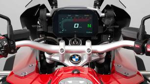 De BMW R 1200 GS krijgt een multimediascherm