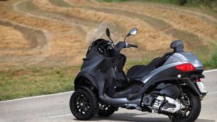 Piaggio MP3 Touring: van 125 tot 500cc, met B rijbewijs!