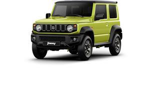 Officiel : Suzuki dévoile son nouveau Jimny