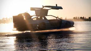 Te koop: DeLorean-hovercraft