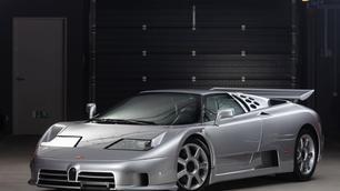 Deze ultrazeldzame Bugatti ademt de sfeer van de 90s