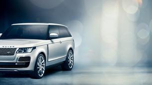 Vorige week op het Autosalon, nu geannuleerd: Range Rover SV Coupé