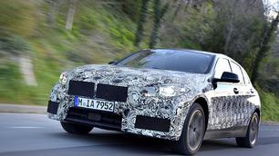 Toekomstige BMW 1-Reeks geeft eerste geheimen bloot