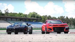 Chevrolet Camaro en Corvette verlaten Europa