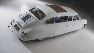 Te veil: unieke en mysterieuze Porsche 356-limousine