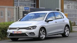 VW Golf 8 : l'hybride rechargeable GTE presque à nu