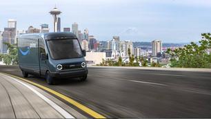 Amazon bestelt 100.000 elektrische bestelwagens bij Rivian